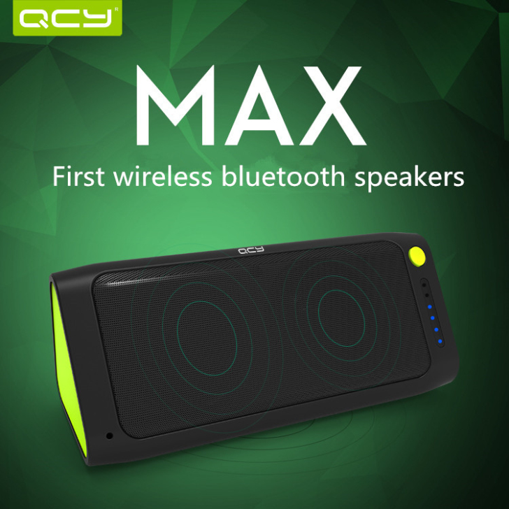 QCY QQ100 Charge 2 Portable Wireless Bluetooth Speaker Power [332]- US$27.88 - www.doesdeal.com